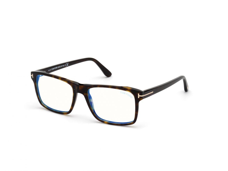 blue tom ford glasses